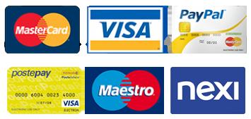 Pagamenti consentiti anche con carta di credito